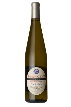 2015 Pinot Blanc Freedom Hill Vineyard Image