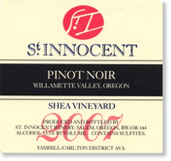 2007 Pinot Noir Shea Vineyard