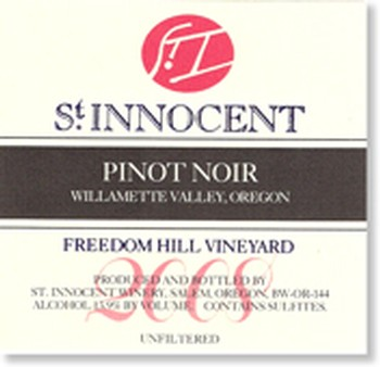 2008 Pinot Noir Freedom Hill Vineyard