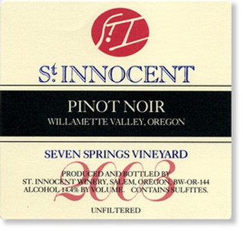 2003 Pinot Noir Seven Springs Vineyard 1.5L