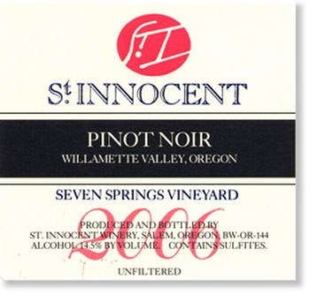 2006 Pinot Noir Seven Springs Vineyard 3L